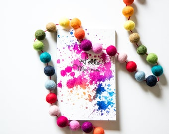 Splatter Pregnancy Journal (Softcover)