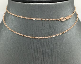 14K Rose Gold Marine Ancor Chain