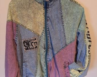 Vintage 1980's Rucanor lightweight jacket  mens small excellent shape