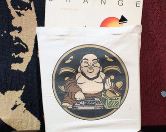 Buddha Beat Junkie Tote Bag