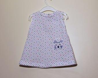 summer cotton sleeveless dress size 2 years