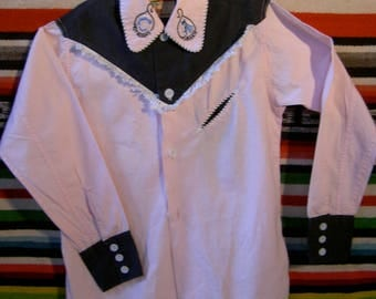 Roy Rogers Kid's cowboy / cowgirl shirt