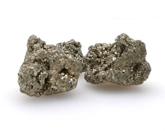 Pyrite nugget, choose your size, natural pyrite chispa, fools gold, rough iron pyrite crystal,