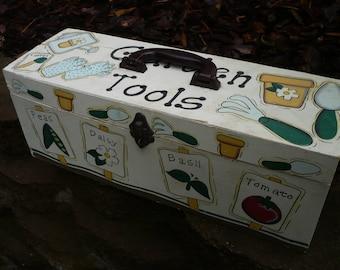 Garden Tool Box , Wooden