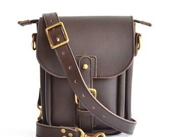 US Postal Bag Mens Leather Messenger Bag Men Leather Messenger