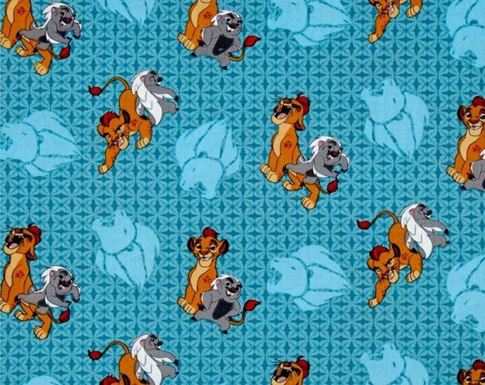 Lion King Cotton Fabric by the Yard