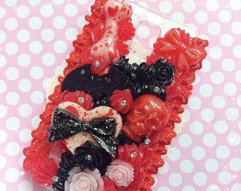SALE Galaxy S5 Creepy Decoden Case