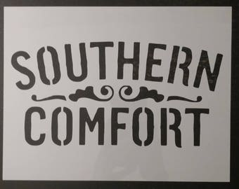 Southern Comfort Custom Stencil FAST FREE SHIPPING
