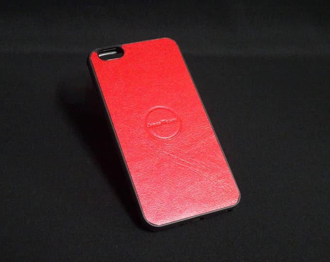 Apple iPhone 6 Plus + - Jimmy Case in Candy Red - Kangaroo leather - Handmade - James Watson