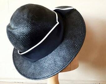 Black Vintage Summer hat