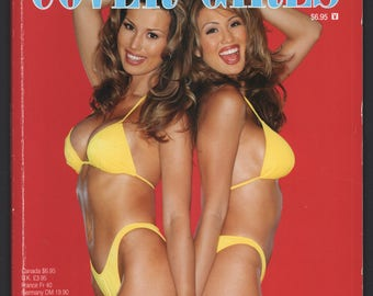 Mature Vintage Playboy Special Edition Mens Girlie Pinup Magazine : Playboy's Cover Girls August 1997