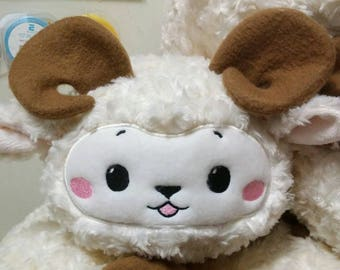 Cute Sheep Plush Toy, Kids Stuffed Animal, Tsum Tsum Plush, Baby Safe Plush Toy, Soft Stuffed Sheep, Stuffed Lamb