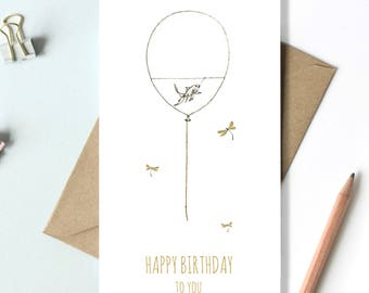 Happy Birthday To You - Quirky birthday card