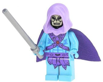 Skeletor custom minifigure 100% Lego Compatible He-Man Masters of the Universe