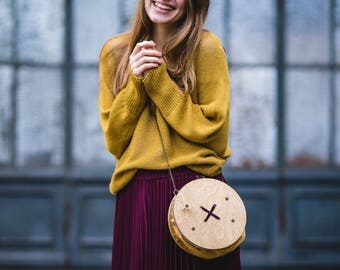 SALE, Gift For Wife, Oversized Clutch, Wood Accessories, Shoulder Bag Purse, Messenger Bag, Clutch Wallet, Art Purse, Rustic Purse