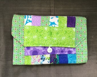 Portable Diaper Changing Pad: Lean Green