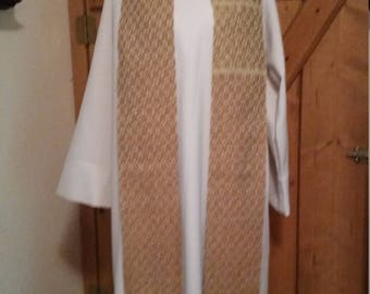 Book of Kells Antique Gold Clergy Stole