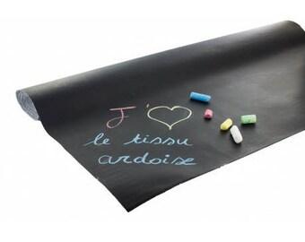 Fabric 10 cm X 140 cm slate table.