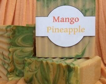 Mango Pineapple Soap  GLUTEN FREE
