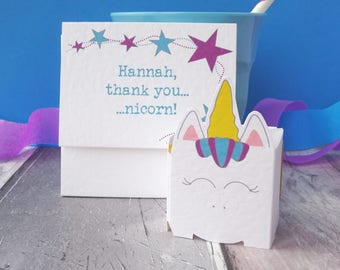 Cute Thank You Card - Personalised Card to Say Thank You - Card to Say Thanks - Pop Up Thank You Card - Thank You Card for Friend -Thank You