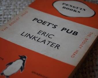 Poet's Pub. Eric Linklater. A Vintage Penguin Book. 3. 1935.