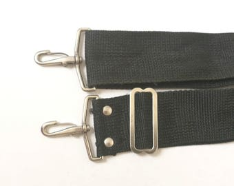 Vintage Black Shoulder/Neck Strap for SLR Rangefinder Camera