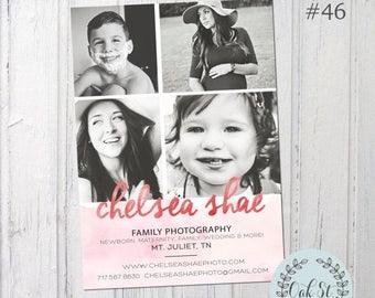 PHOTOGRAPHER TEMPLATE, Photographer Business Flyer, Photographer Marketing Template, Photography Marketing