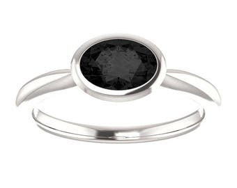 Simple band Cremation Ash Jewelry ring Pet Memorial Solified ashes Oval 7mm