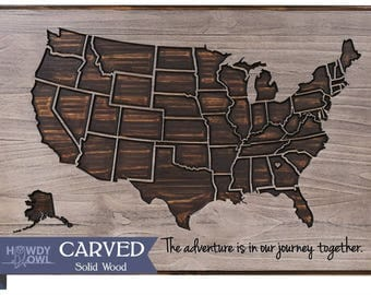 Us Map State Lines Wooden Us Map With State Lines Solid Wood - Us map lines