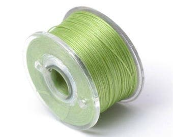 5 m green coated polyester thread special seed 0.1 mm