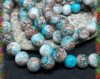 70 multico 10 mm glass beads