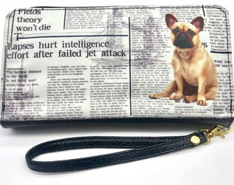FRENCH BULLDOG WALLETS! Women's wallet, animal Lovers, dog lovers, wallets