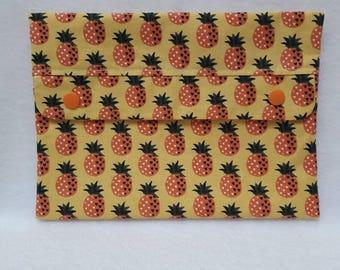 Kit flat pineapple motif