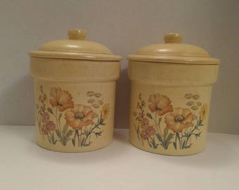 Treasure Craft Wildflower Canisters