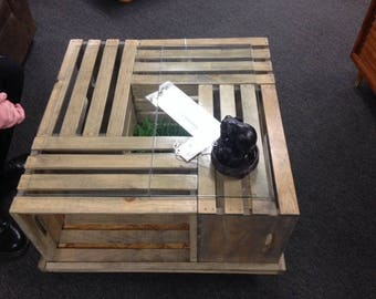 Custom Crate Table