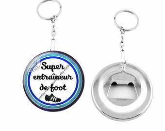 Keychain bottle opener/great football coach