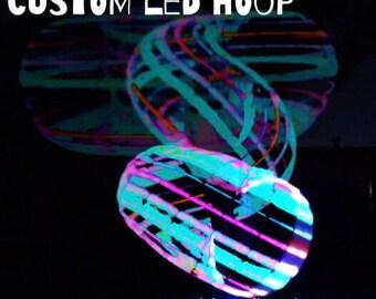NEW++ CUSTOM LED Hoop - pick your colors!