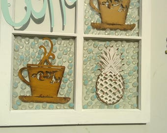 Vintage uptake decorative window