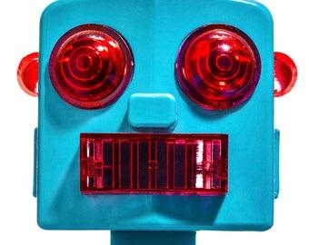 Acrobot Graphic Sci Fi Toy Robot Fine Art Photograph