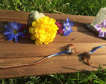 Marigold Flower Headband