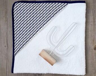 Marina hooded towel