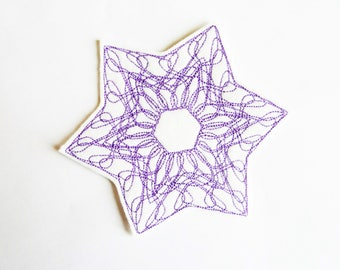 Star badge patch embroidered patch