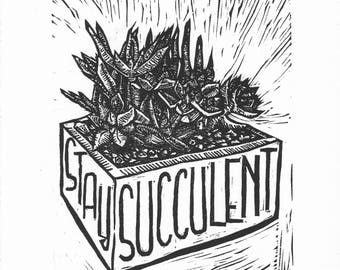Stay Succulent