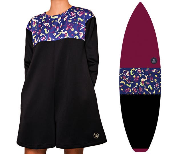NEW IN   Oh, Mangod   Surfboard Sock & Winter Playsuit Bundle   Free Pocket + Nose Padding Add-ons