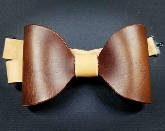 Horween Bow tie