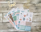 Moving Home / New Home Erin Condren Life Planner Vertical Planner, Journalling, Memory Keeping Sticker Kit