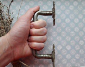 Vintage Door Handle, Farmhouse Handle, door handle, Rustic Primitive, Industrial, metal door grip