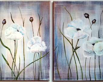 """Modular picture """"Poppies"""""""