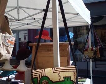 Handbag key pattern batik fabric