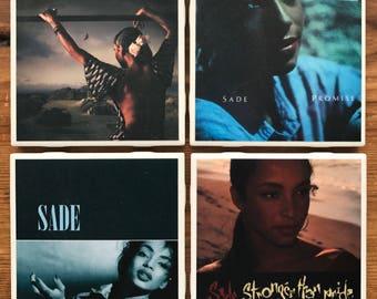 Sade Album Cover Coasters
